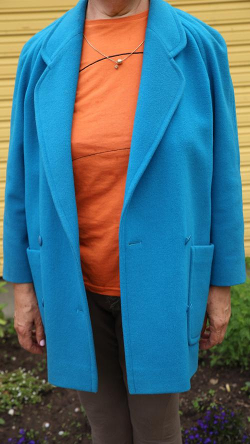 Sinine mantel