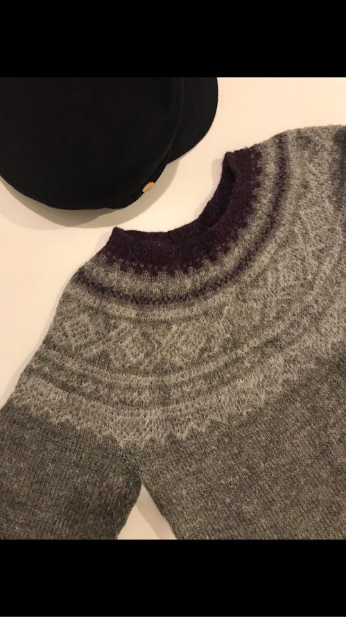 Icelandic knitted sweater