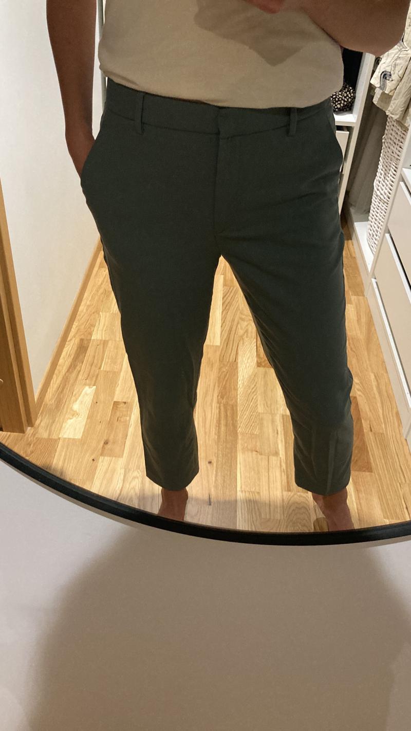 Rohelised viisakad püksid