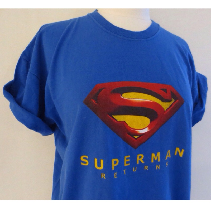 9d3f2794a7f43 ... Superman returns t-shirt