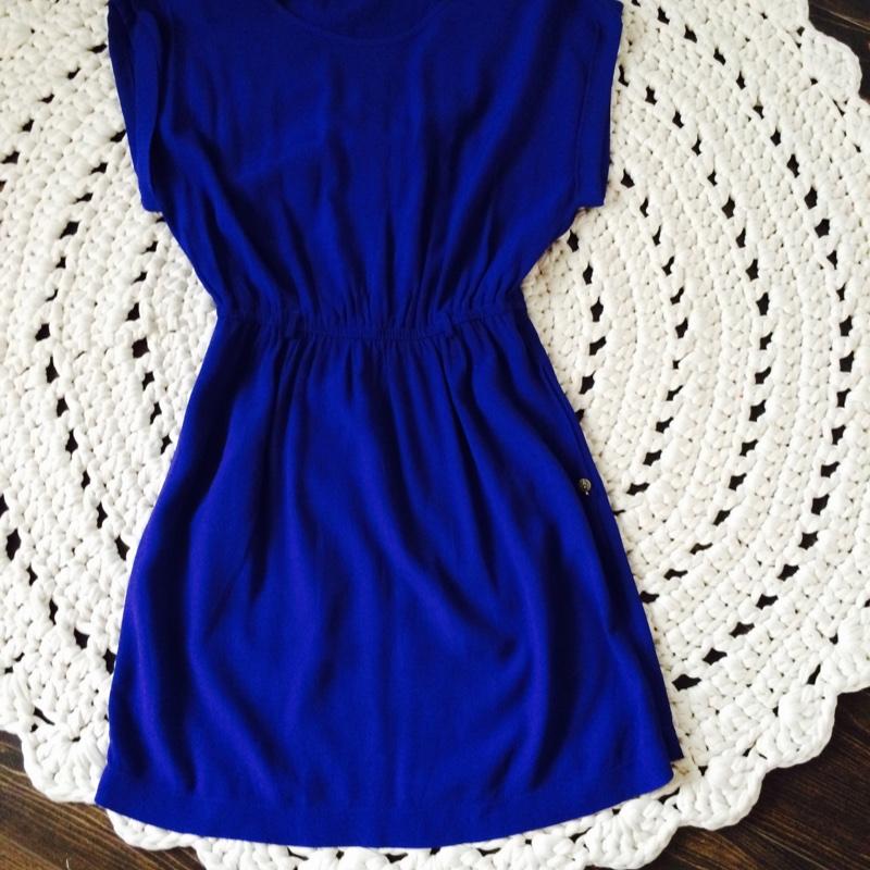 81d3110db8e ... Sinine Mango kleit ...
